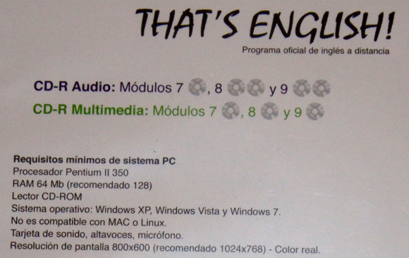Requisitos CD multimedia